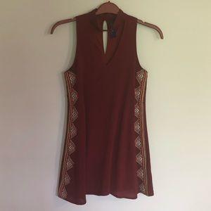 Blue Rain Tribal summer dress size XS